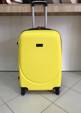 🔥качество! купить дорожный пластиковый чемодан большой! велика валіза плстикова