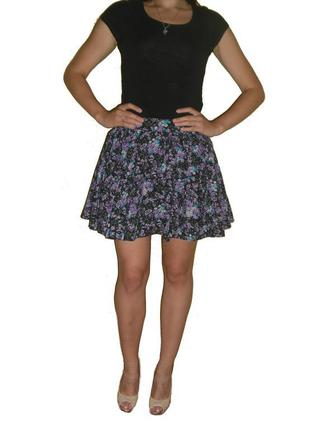 Летняя мини юбка (юбка солнце)