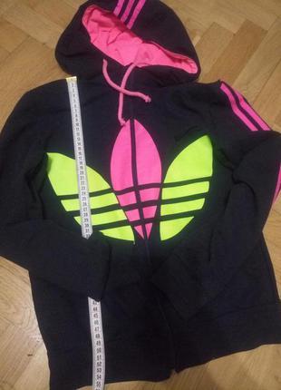 Спортивная кофта на молнии adidas
