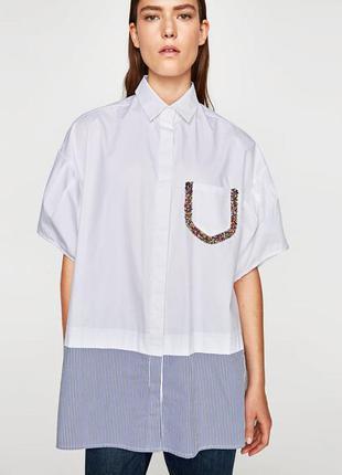 Блуза zara новая, м