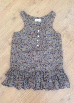 Блуза с коротким рукавом xc-с