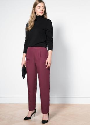 Струящиеся брюки от mango (violeta)