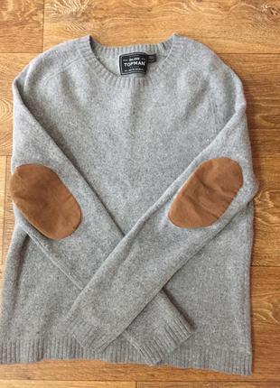 Тёплый свитерок topman
