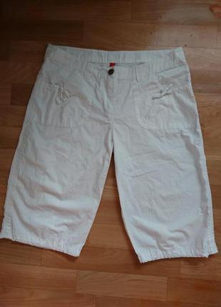 Белые шорты длинные