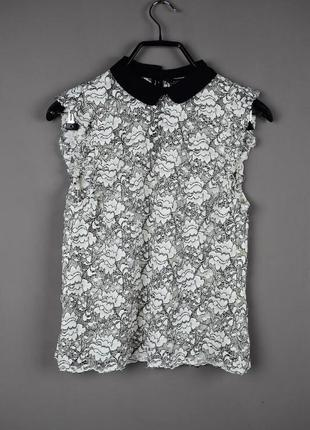Красивая кружевная блуза от zara
