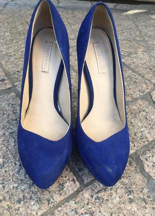 Туфли zara высокий каблук