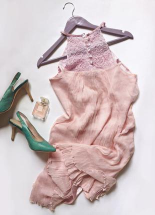 Чудесное шелковое платье melleze paris2 фото