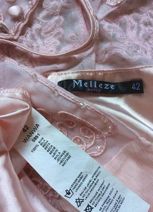 Чудесное шелковое платье melleze paris3 фото