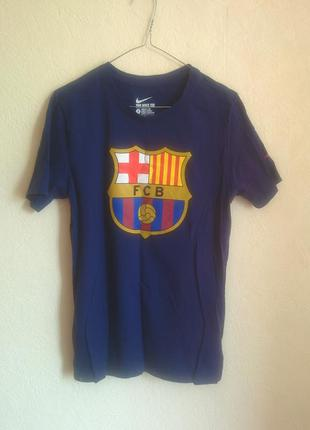 Футболка nike barcelona