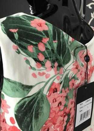 Блуза в цветы2 фото