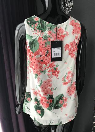 Блуза в цветы4 фото