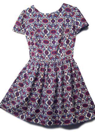 Платье летнее, с пышной юбкой