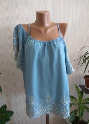 Блуза вишитая размер xxl