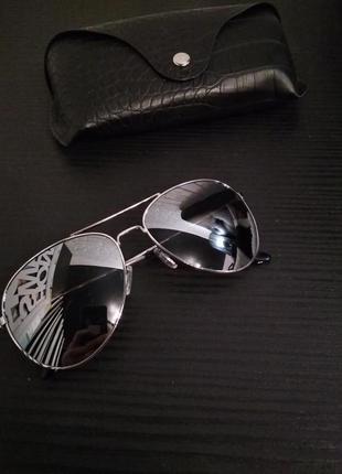 Стильные очки авиаторы/капельки, h&m