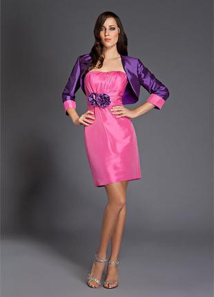 Шикарные платья для выпускного, торжеств m.lesley р.м-38-10 ,америка , ручная работа