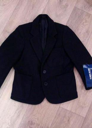 100% шерстяной модный пиджак с биркой