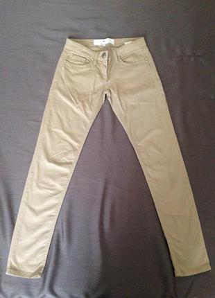 Elisabetta franchi celyn b бежевые джинсы(дефекты)
