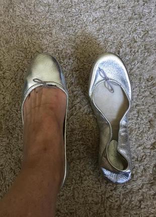 Lola cruz нарядные туфли балетки р. 40 испания