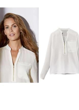 Красивая шифоновая блузка рубашка блуза esmara германия