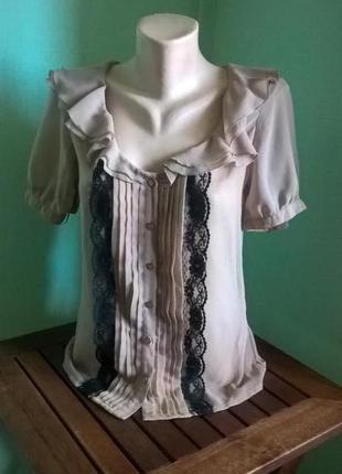 Шифоновая блуза asos1 фото