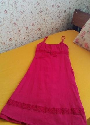 Яркое платье marks&spencer
