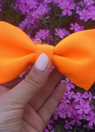 Оранжевая бабочка hand made