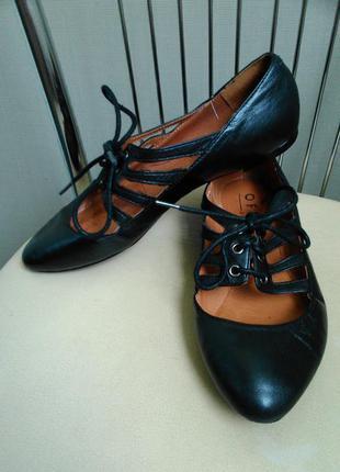Office, 36 p. кожаные классические туфли балетки