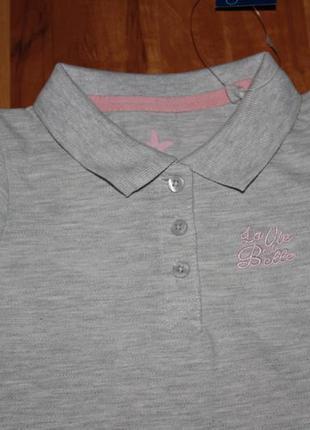 Фирменное спортивное платице (86-92 и 110-116) футболка-туника