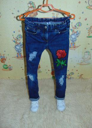 Модні джинси petit bateau ріст 128