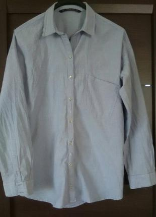 Рубашка в полоску от zara