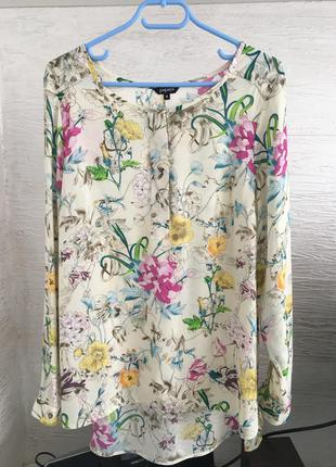 Красивейшая блуза рубашка papaya 16-14 размер