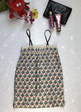 Zara шелковое платье- сарафан s- размер