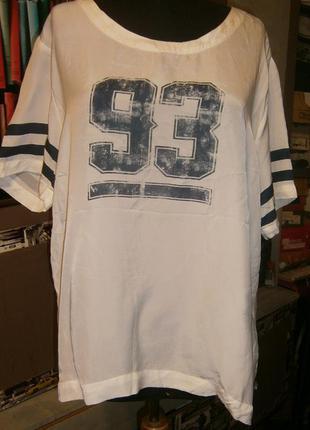 Оригинальная шелковая блуза lexington