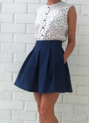 Стильная юбка р.м бренд asos glamourus
