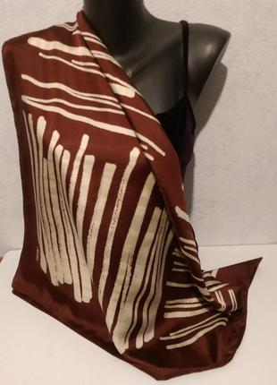 Натуральный шелк,платок 82*83