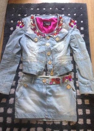 Куртка костюм юбка пиджак