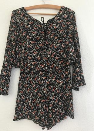 Чорний комбінезон tm mango, платье-комбинезон, шорты, платье, костюм