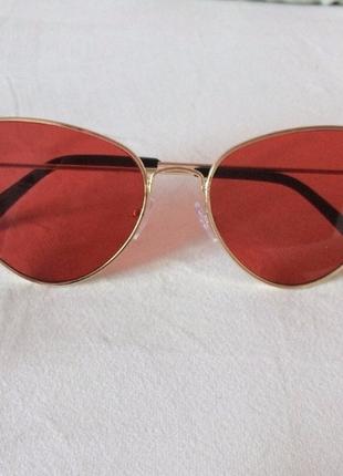Акция !крутые очки лисички хит лета  , освежат любой образ , качество люкс