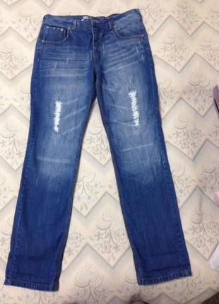 Стильные джинсы, размер 34, l