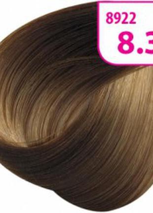 Стойкая cc крем-краска для волос krasa золотисто-пшеничный 8922