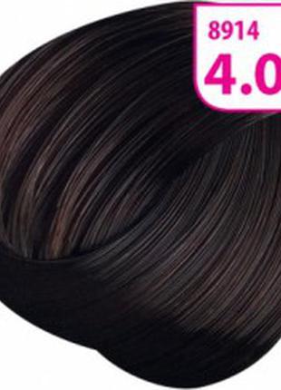 Стойкая cc крем-краска для волос krasa тон каштан шоколадный.8914