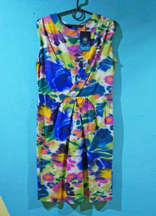 Яркое короткое платье от zara!