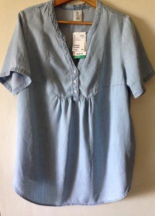 Коттоновая блуза