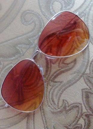 Очки капли солнцезащитные