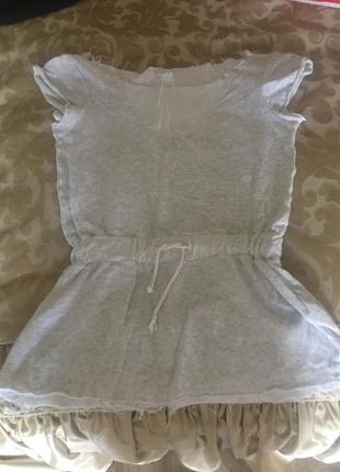 Короткое летнее платье zara