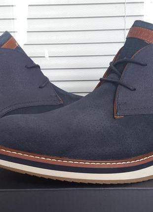 Tommy hilfiger оригинал новый кожаные ботинки размер 41  42  43  44