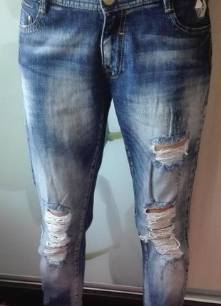 Классные джинсы бойфренды amn