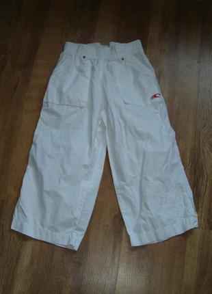 O`neill белые шорты капри на девочку 9-10 лет рост 140 см