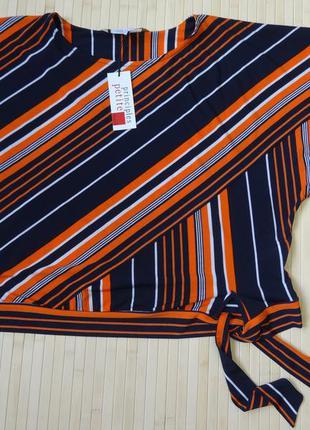 Блузка principles petite by ben de lisi