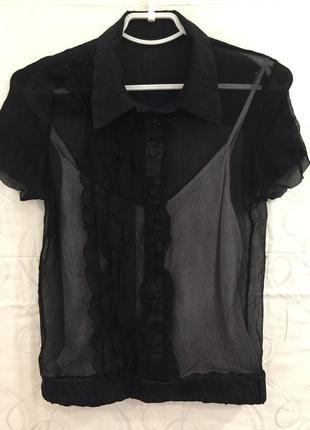 Шёлковая блузка майка